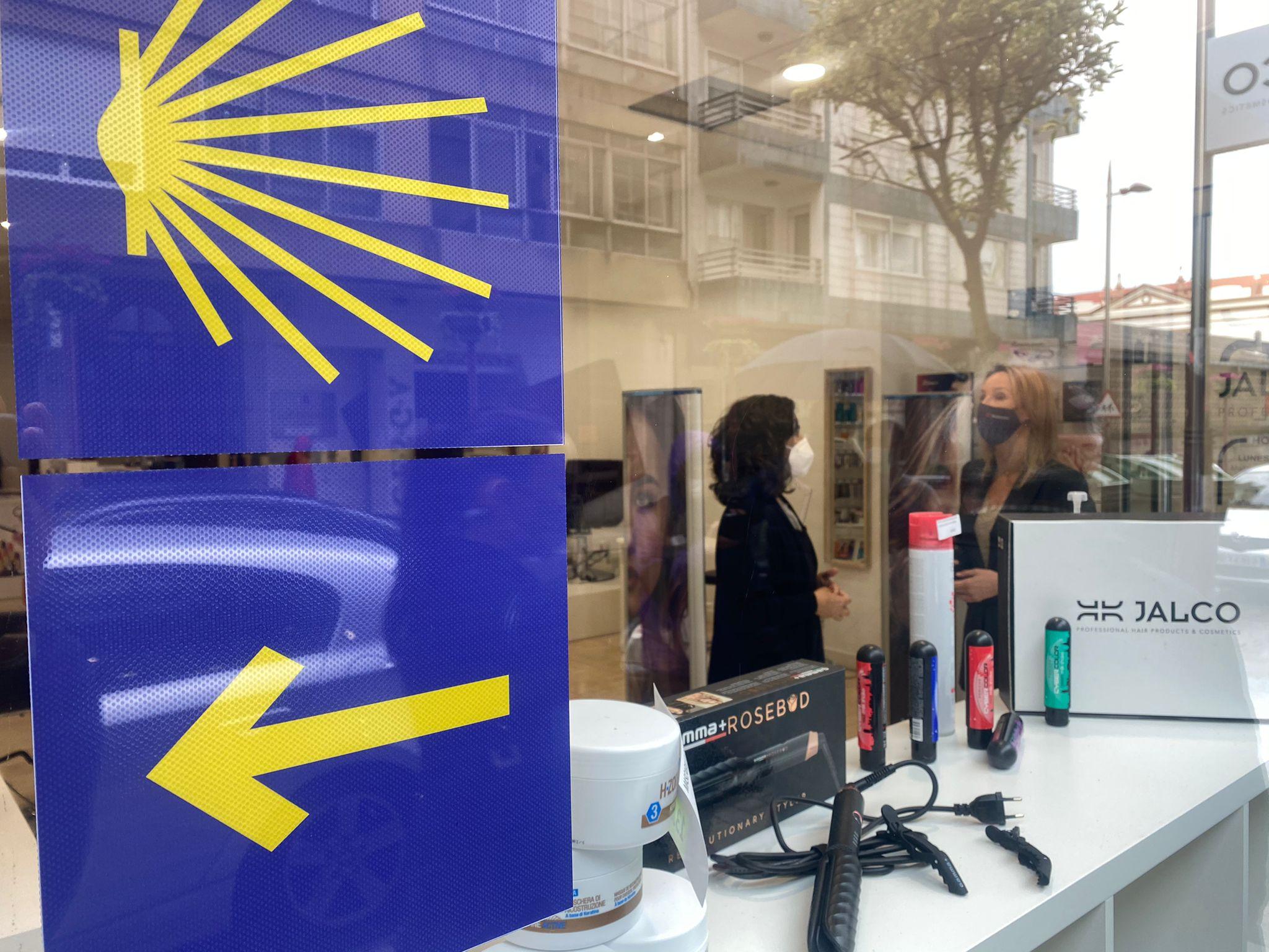 O Comercio de Vigo súmase á Hostalería na sinalización do Camiño de Santiago