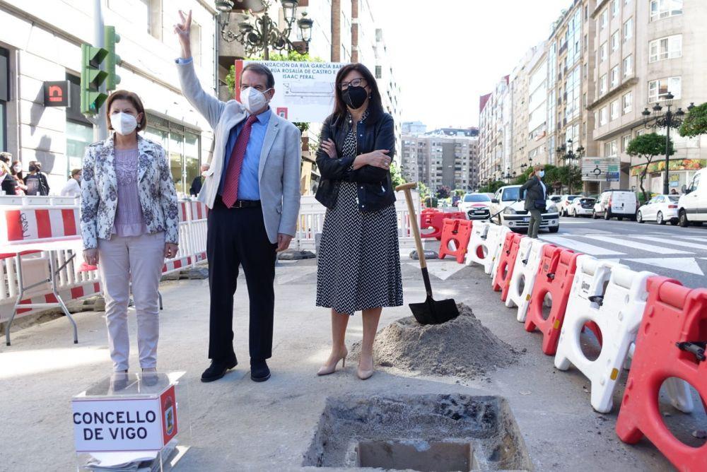 Empiezan las obras de García Barbón que durarán hasta principio de 2022