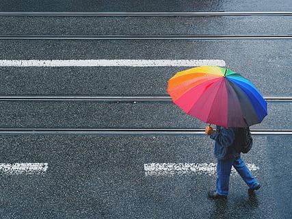 La lluvia seguirá en Vigo los próximos días