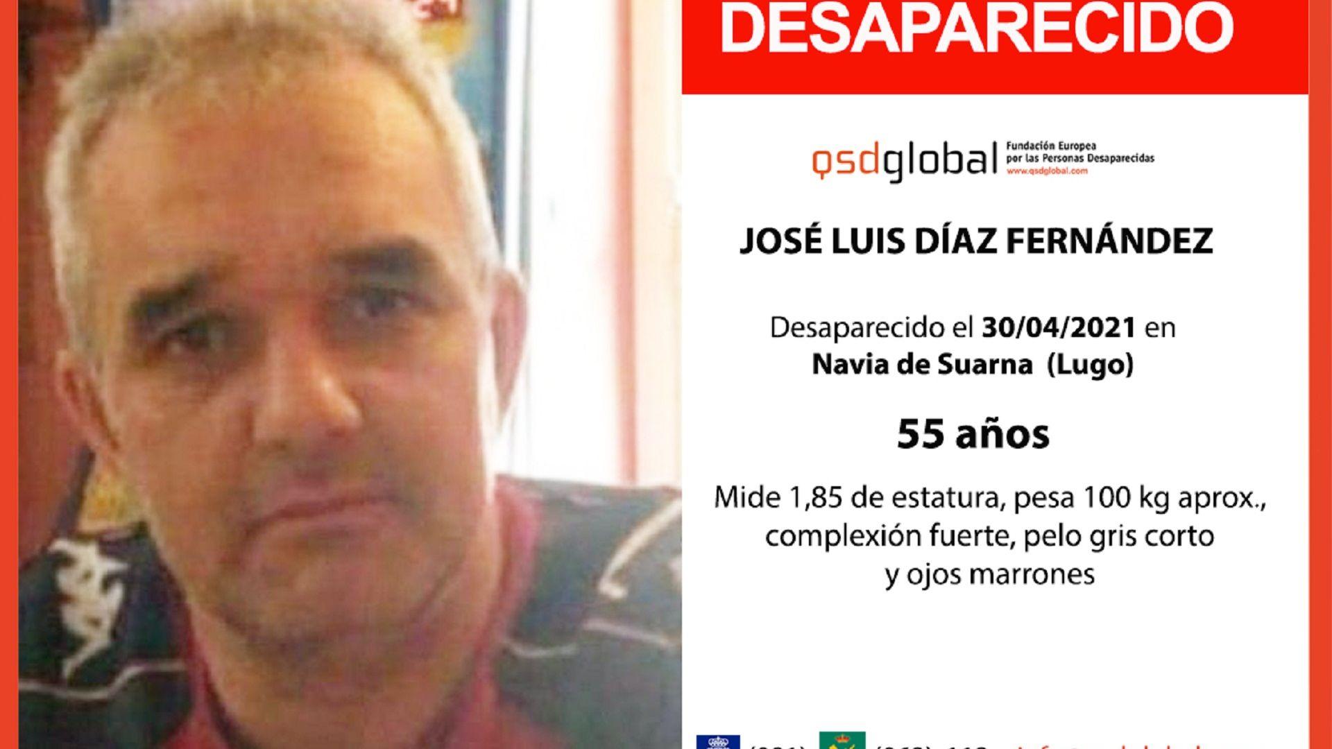 Vecino Navia de Suarna desaparecido desde abril