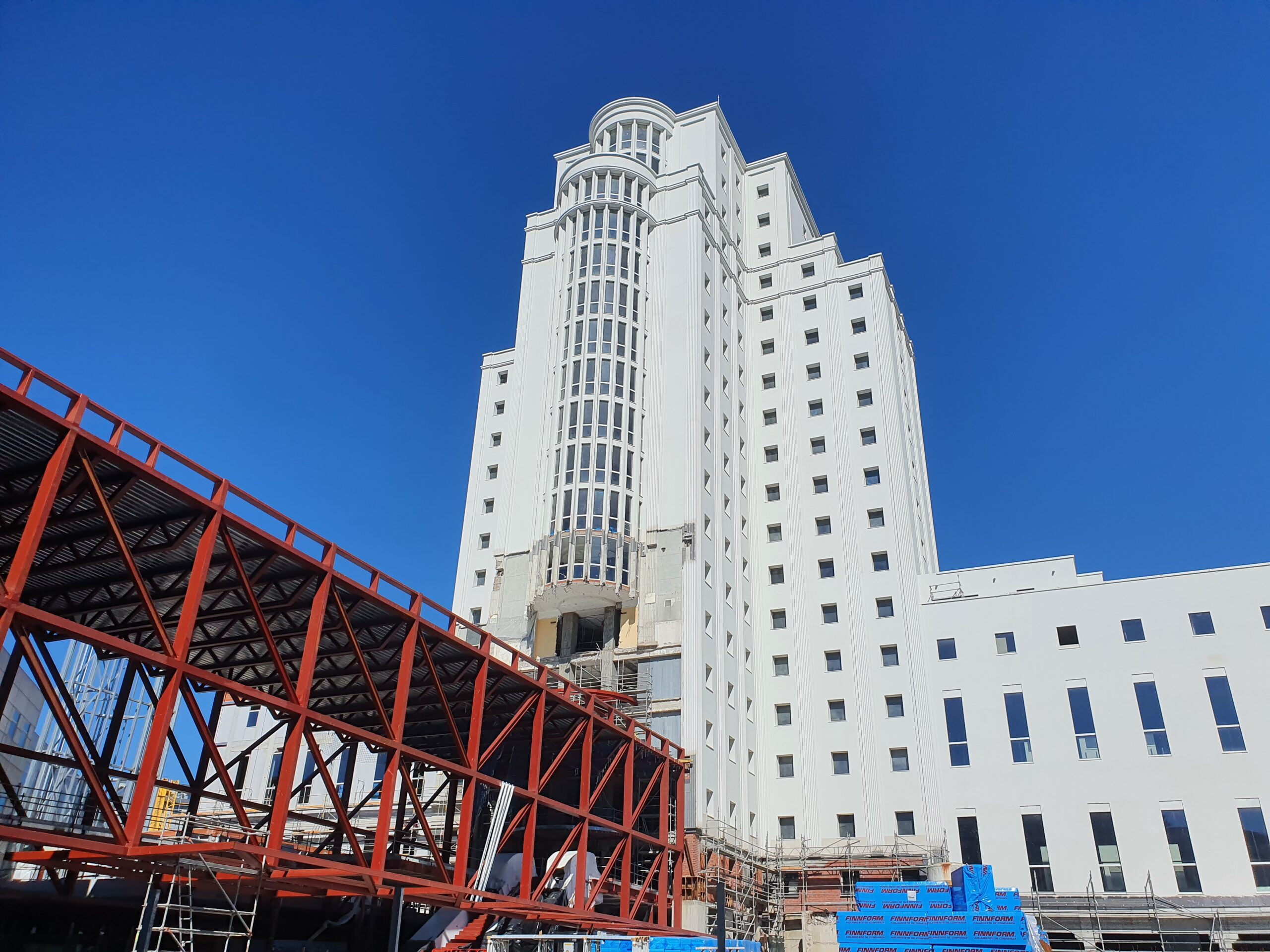 Empieza el 'traslado' a la nueva Cidade da Xustiza de Vigo