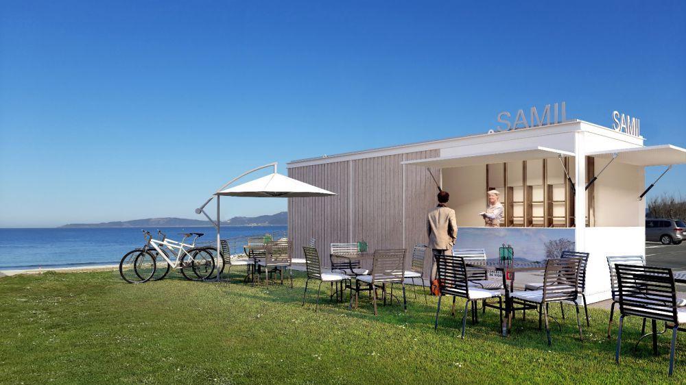 Adjudicados los 'chiringuitos' de las playas de Vigo
