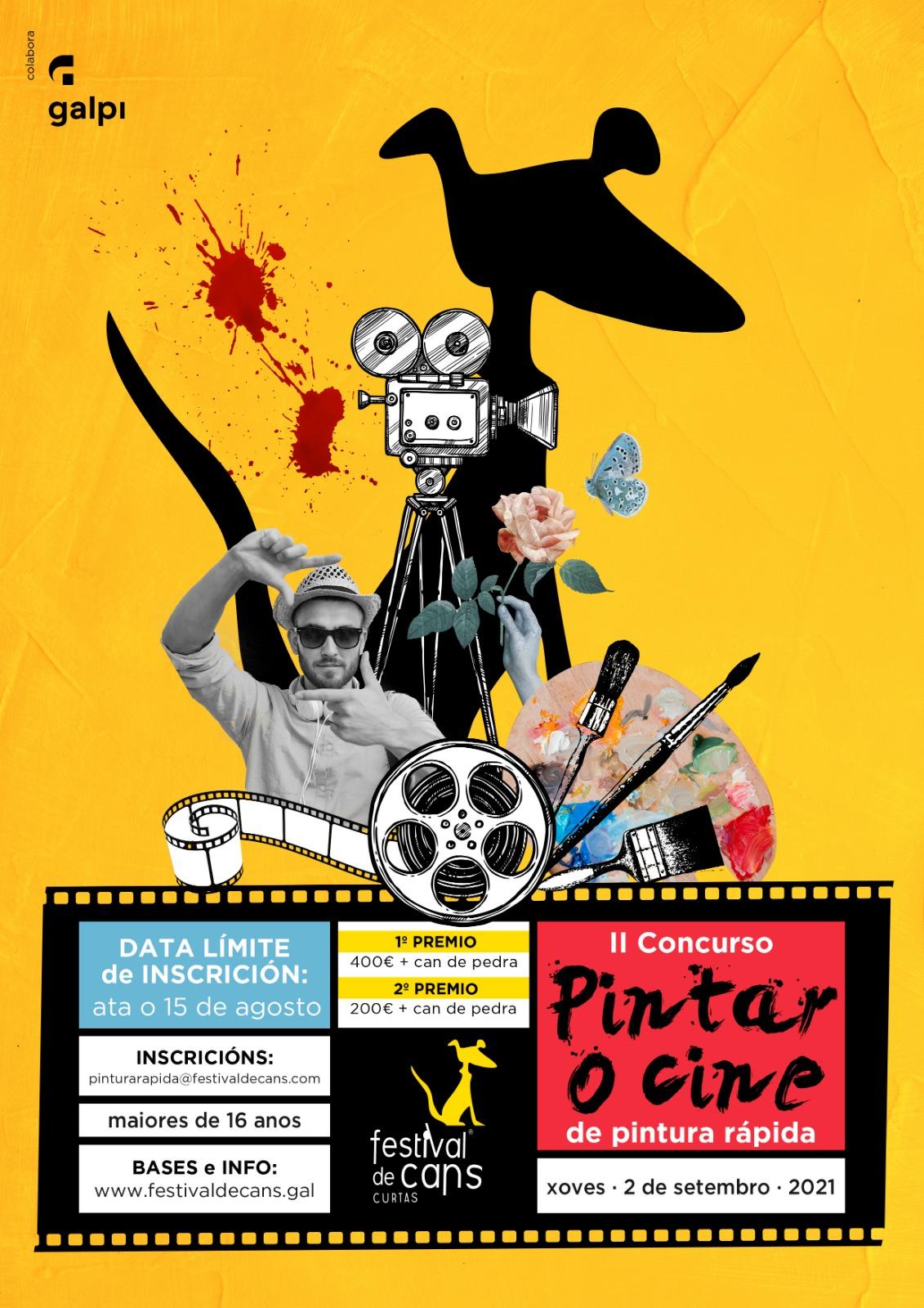 Festival de Cans Pintar o Cine