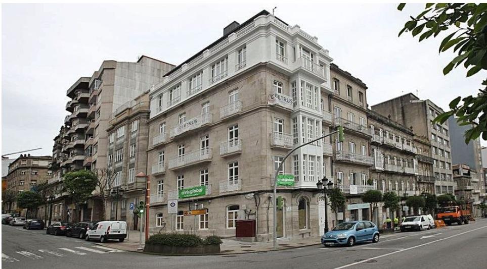 El hotel situado frente a la Estación de Urzáiz, abrirá en septiembre