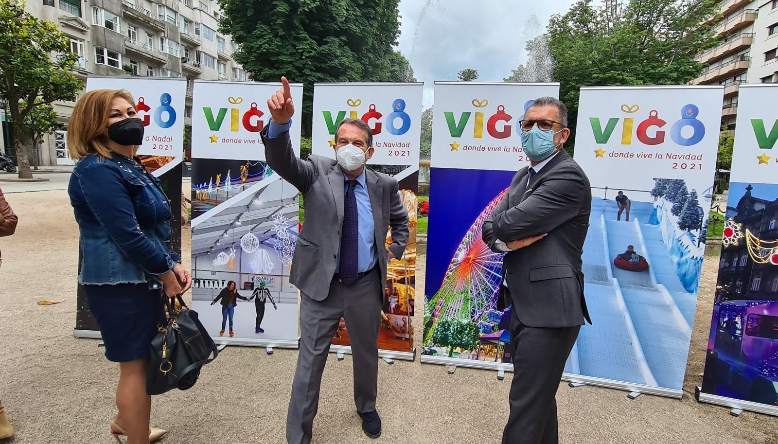 El alcalde presentó este 1 de junio la Navidad de Vigo