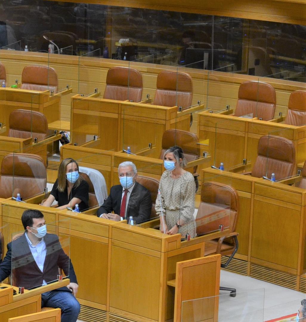 A viguesa Noelia Otero, nova deputada no Parlamento de Galicia