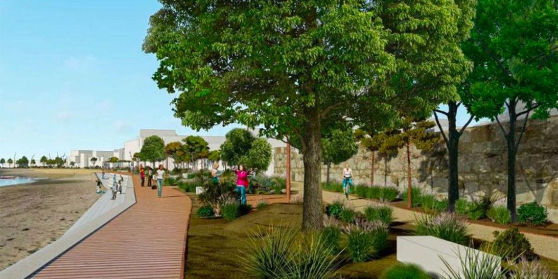 El Paseo de Bouzas se arreglará imitando a las playas fluviales del Sena