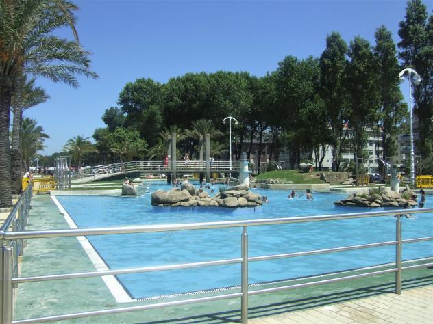 Las piscinas de Samil, tampoco se abrirán este verano