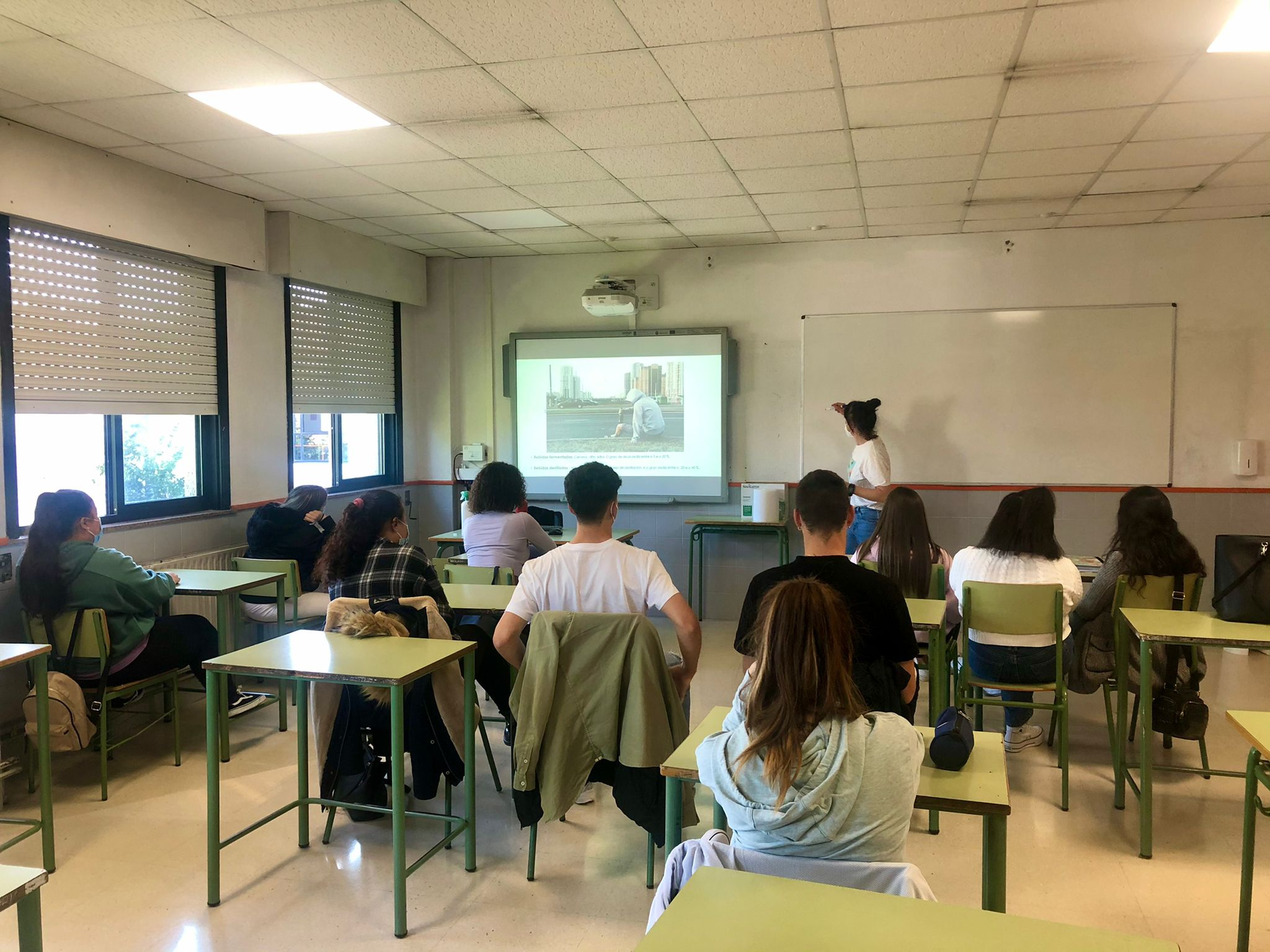 Máis de 3000 menores da área de Vigo asistiron a talleres de prevención de adiccións