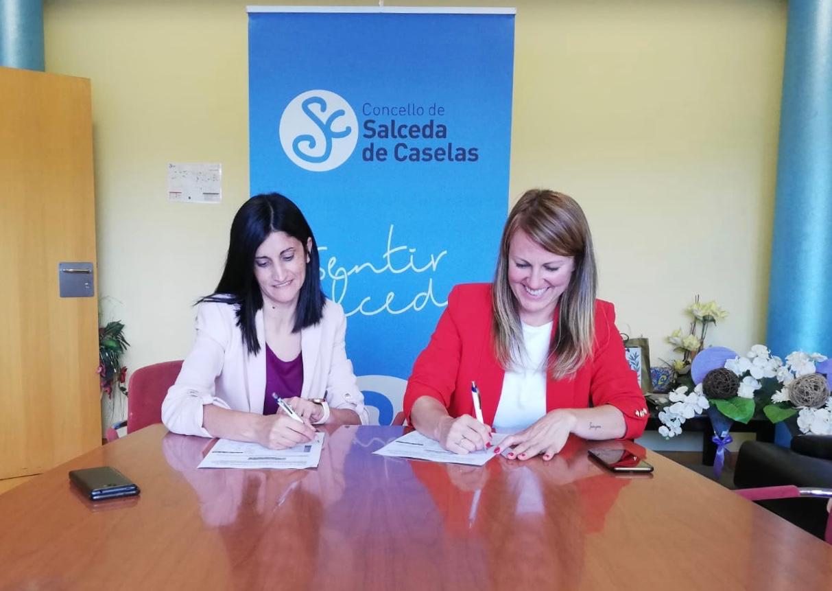 Verónica Tourón, nova alcaldesa de Salceda