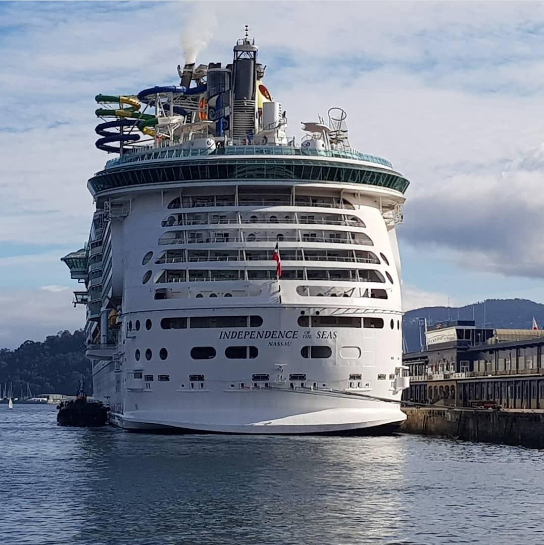 Concentración en Vigo para que o Goberno prohíba a entrada de cruceiros