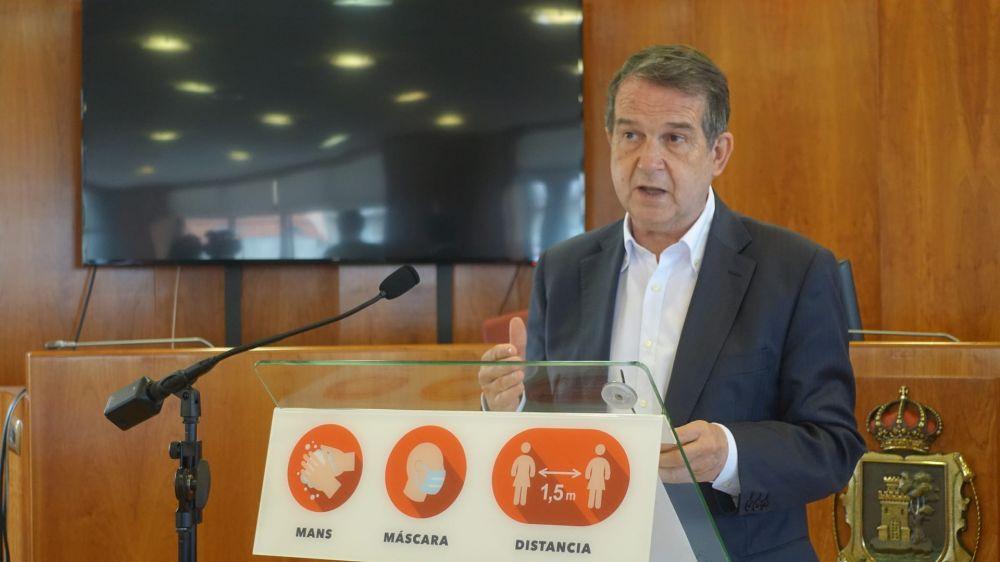 El alcalde asegura a los hosteleros que no hubo botellón el fin de semana