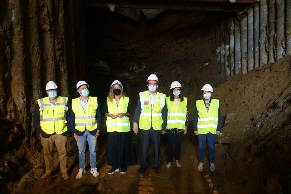 """El túnel de Lepanto estará acabado """"a finales de este año o principios de 2022"""""""