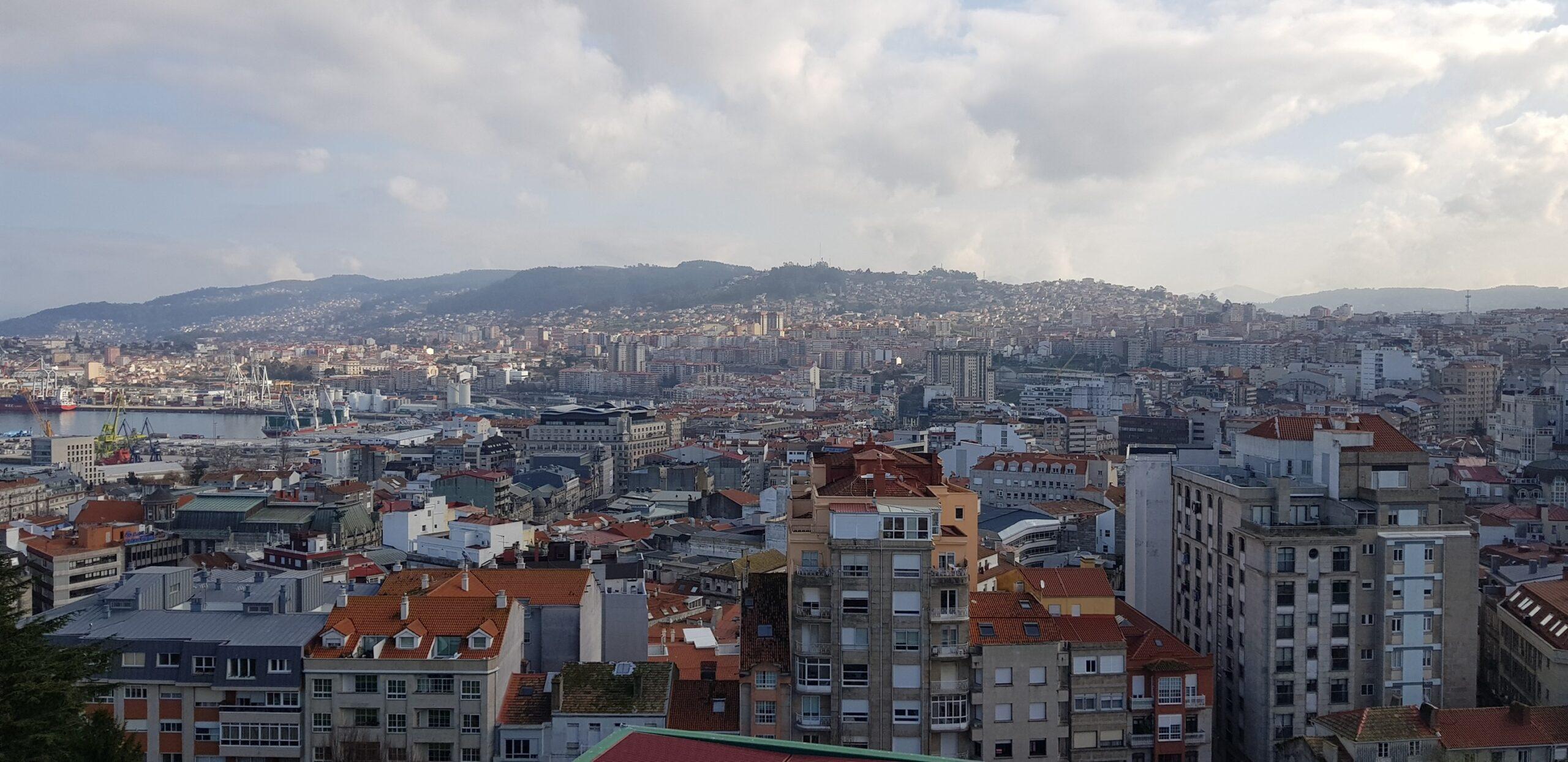 Vigo ten o aire máis contaminado de Galicia