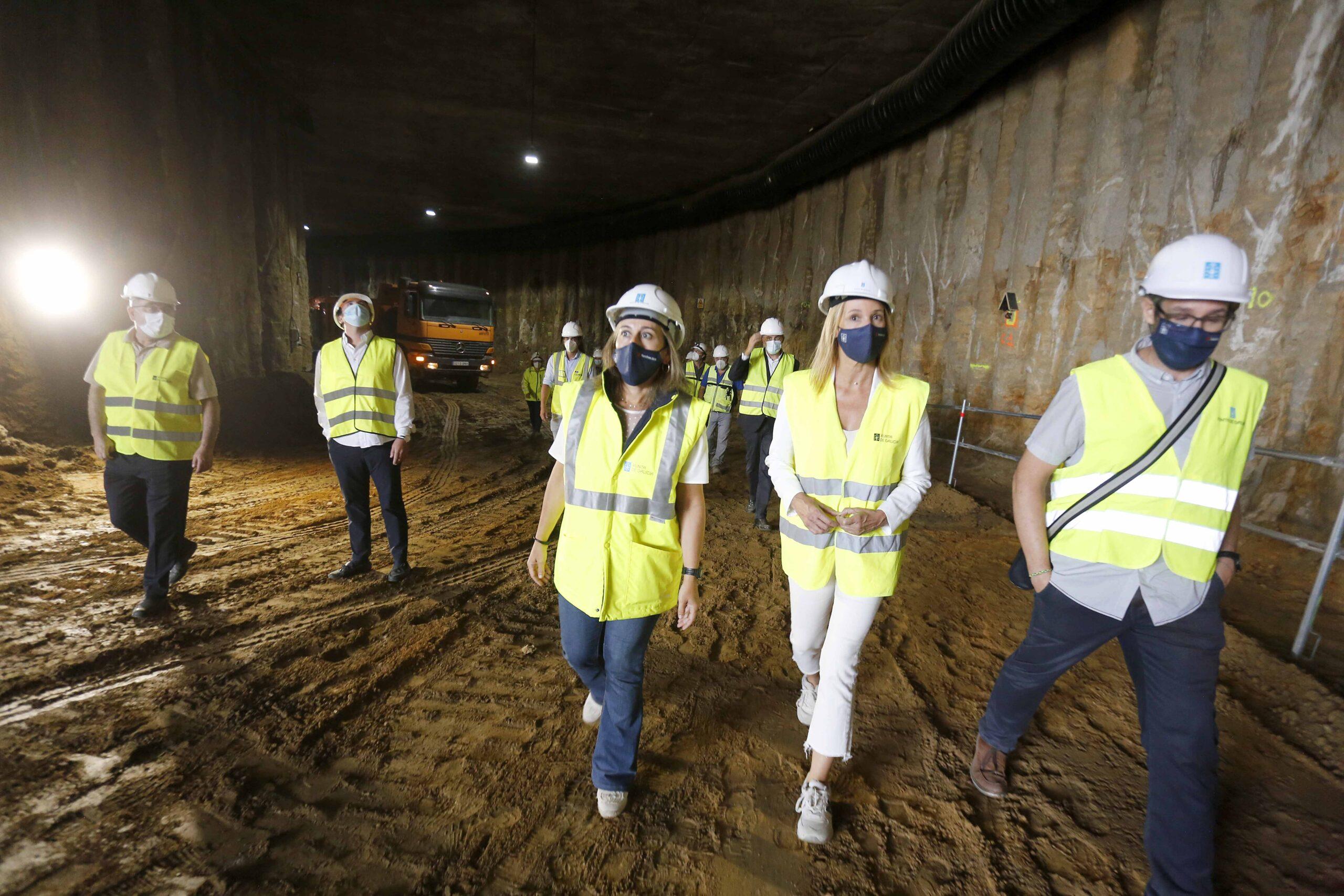 La nueva Estación de Autobuses de Vigo estará acabada antes de final de año