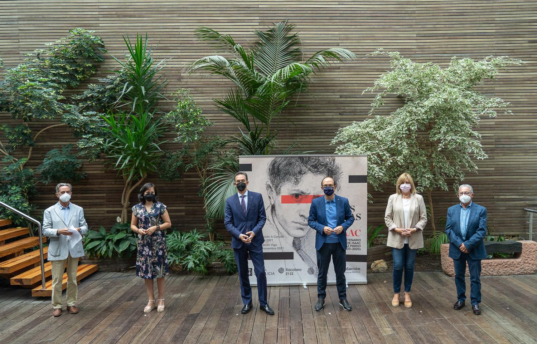 Chega a Vigo a exposición 'As Miradas de Isaac', unha ollada a figura de Díaz Pardo