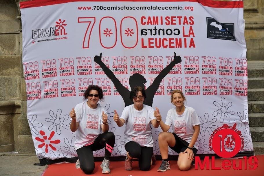 500 personas caminarán de Vigo a Pontevedra con '700 camisetas contra la leucemia'