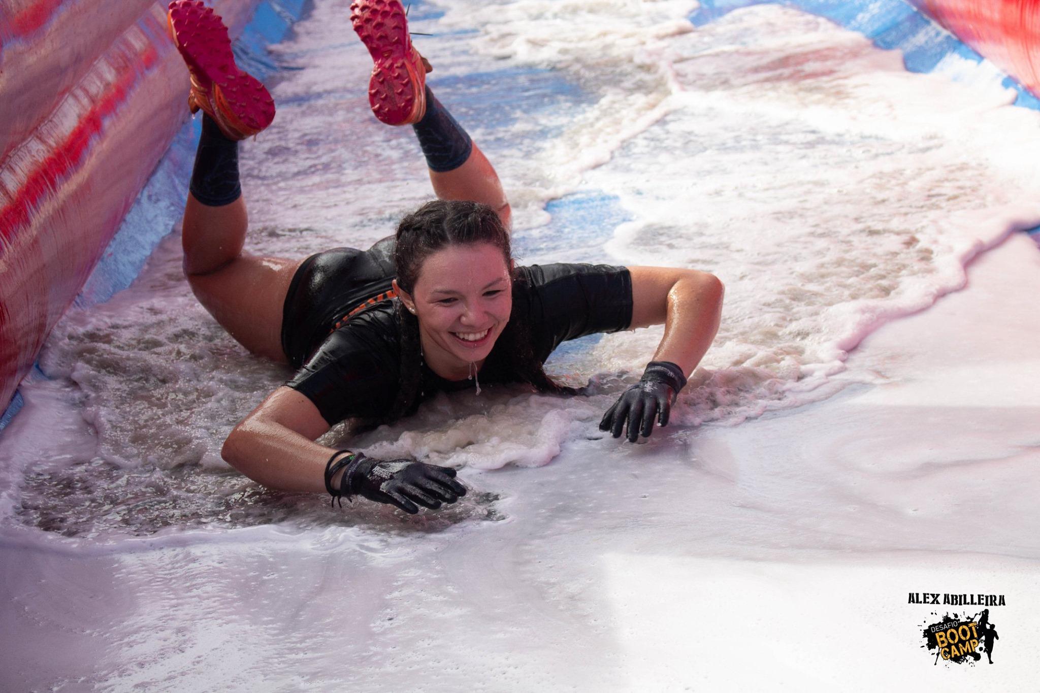 Diversión y deporte,en Samil, en el 7º 'Desafío Boot Camp'