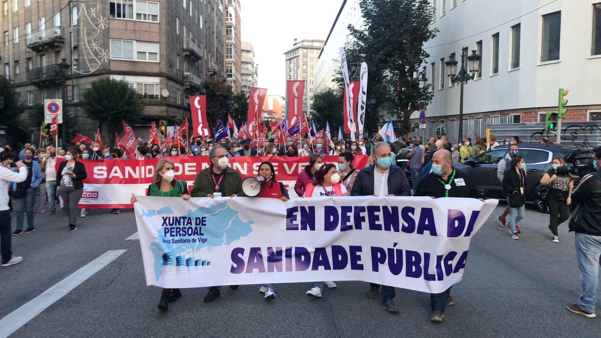 Vigo sale a la calle para exigir la recuperación de la Atención Primaria