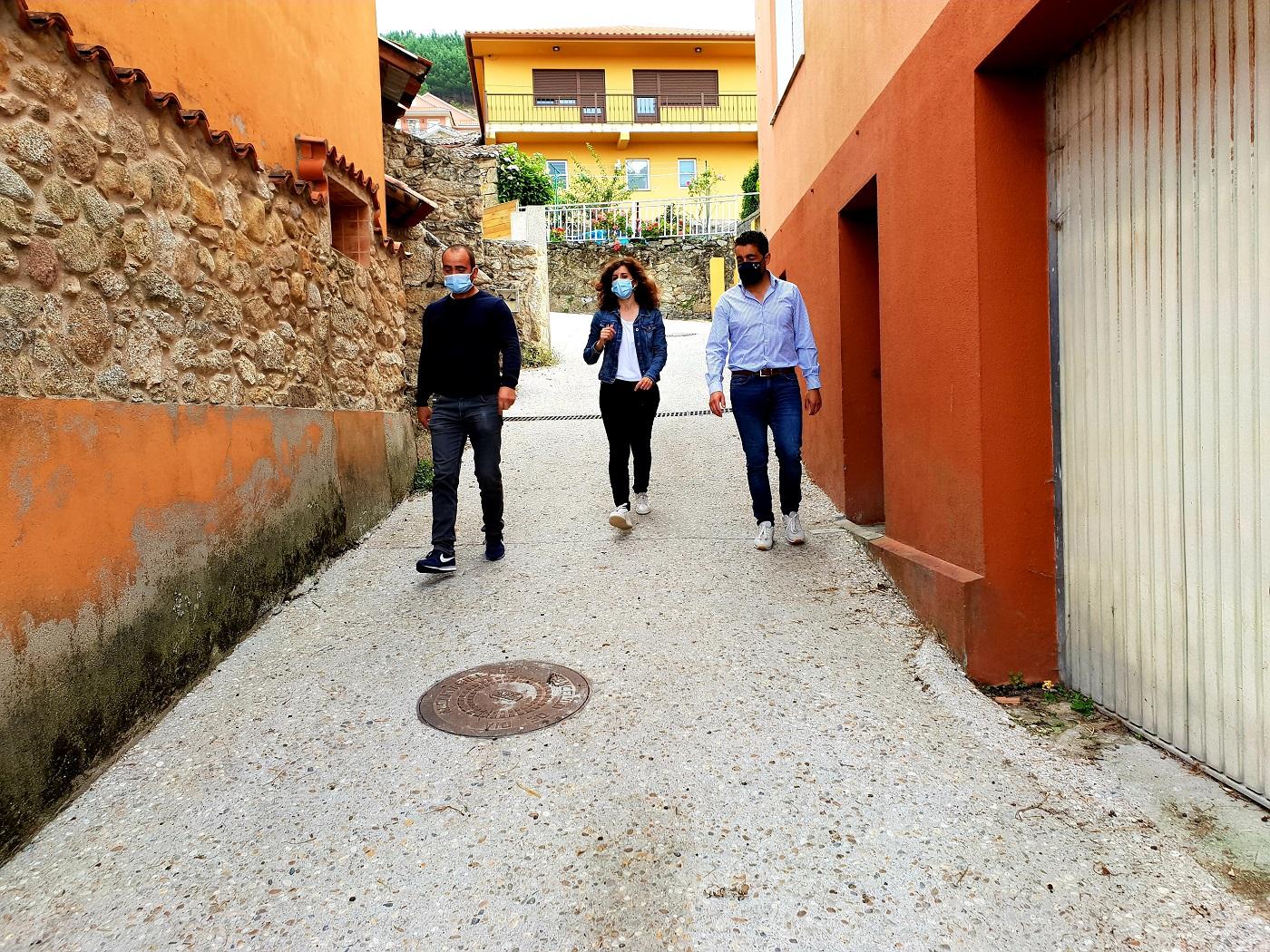 Medio Rural acomete a mellora de Laxes de Arriba, no Concello de Oia, cun investimento de 40.000€