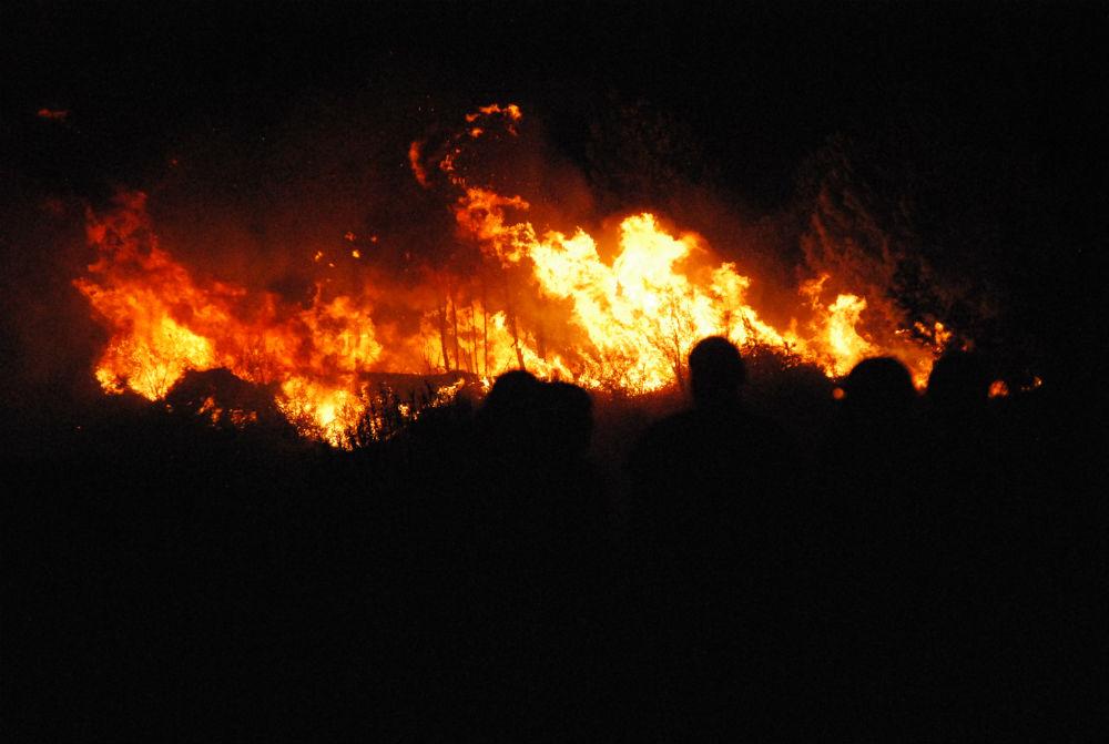 Ribas de Sil incendio