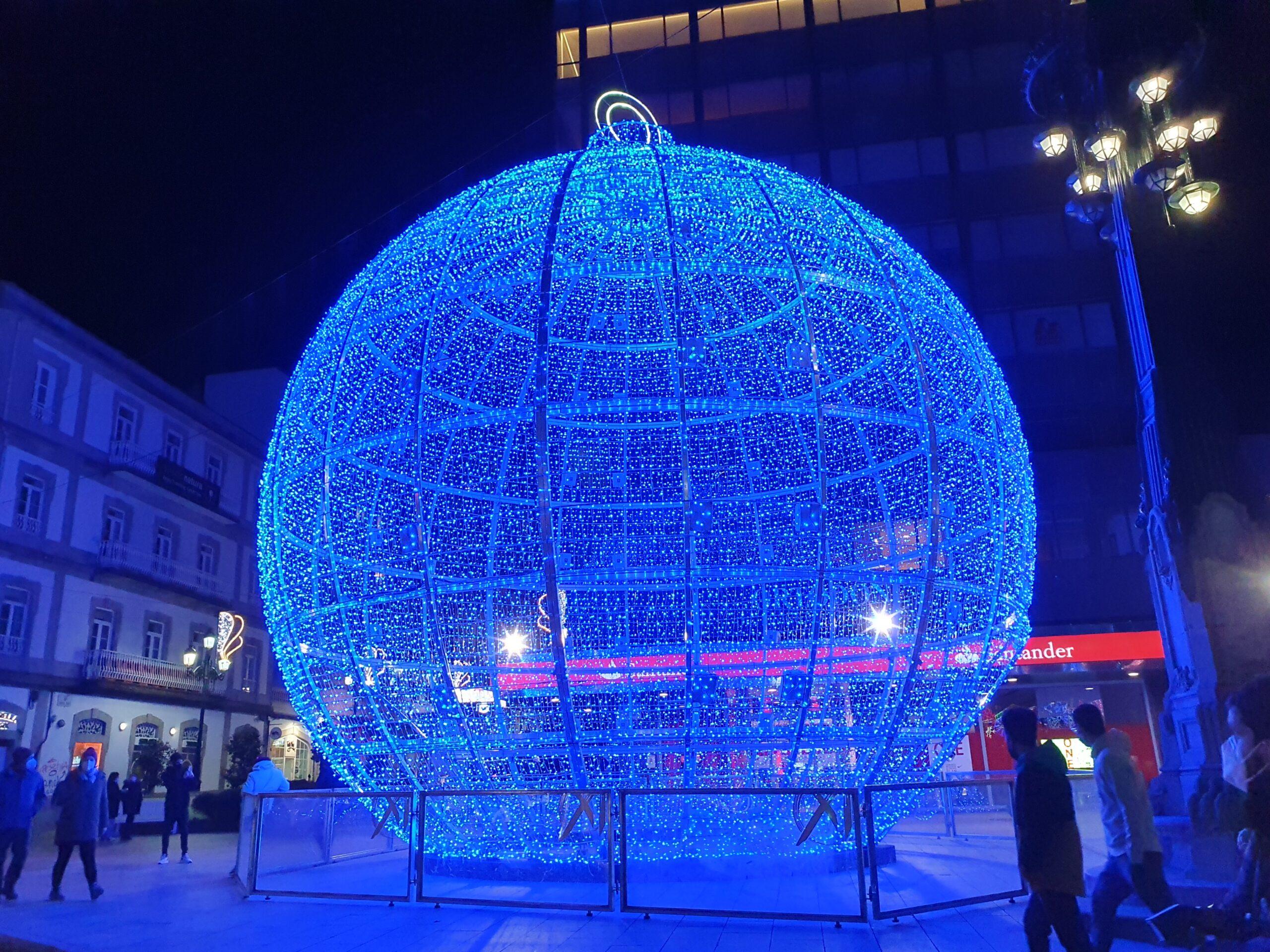 luces de Navidad de Vigo