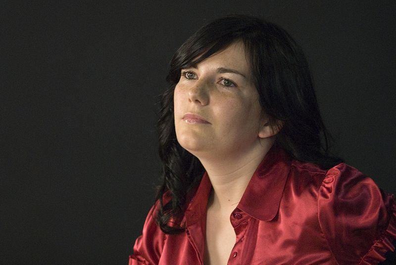 Ledicia Costas, no Club de Lectura da Biblioteca de Ponteareas