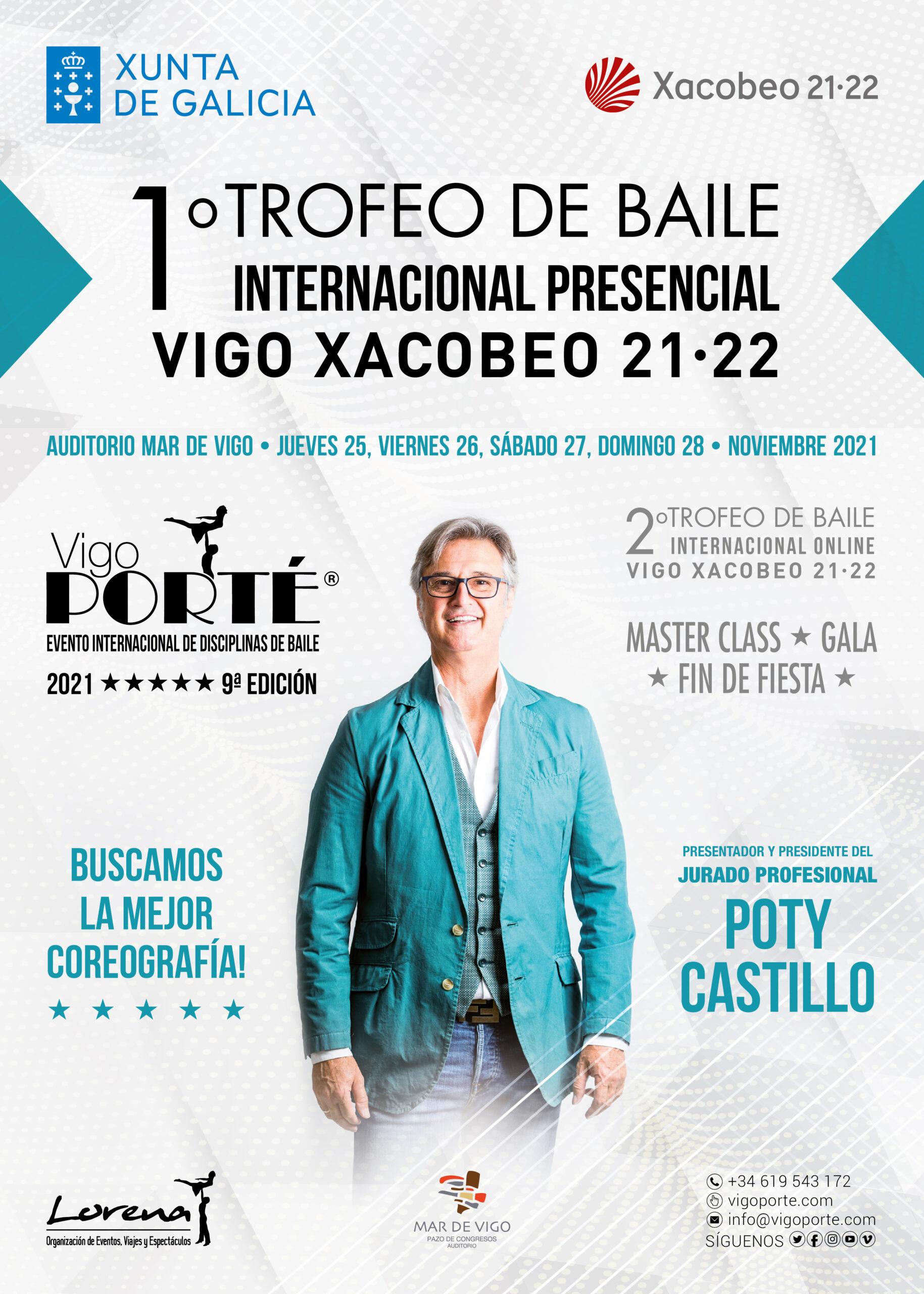 """'Vigo Porté' vuelve con el """"1º Trofeo de Baile Vigo Xacobeo 21.22"""""""