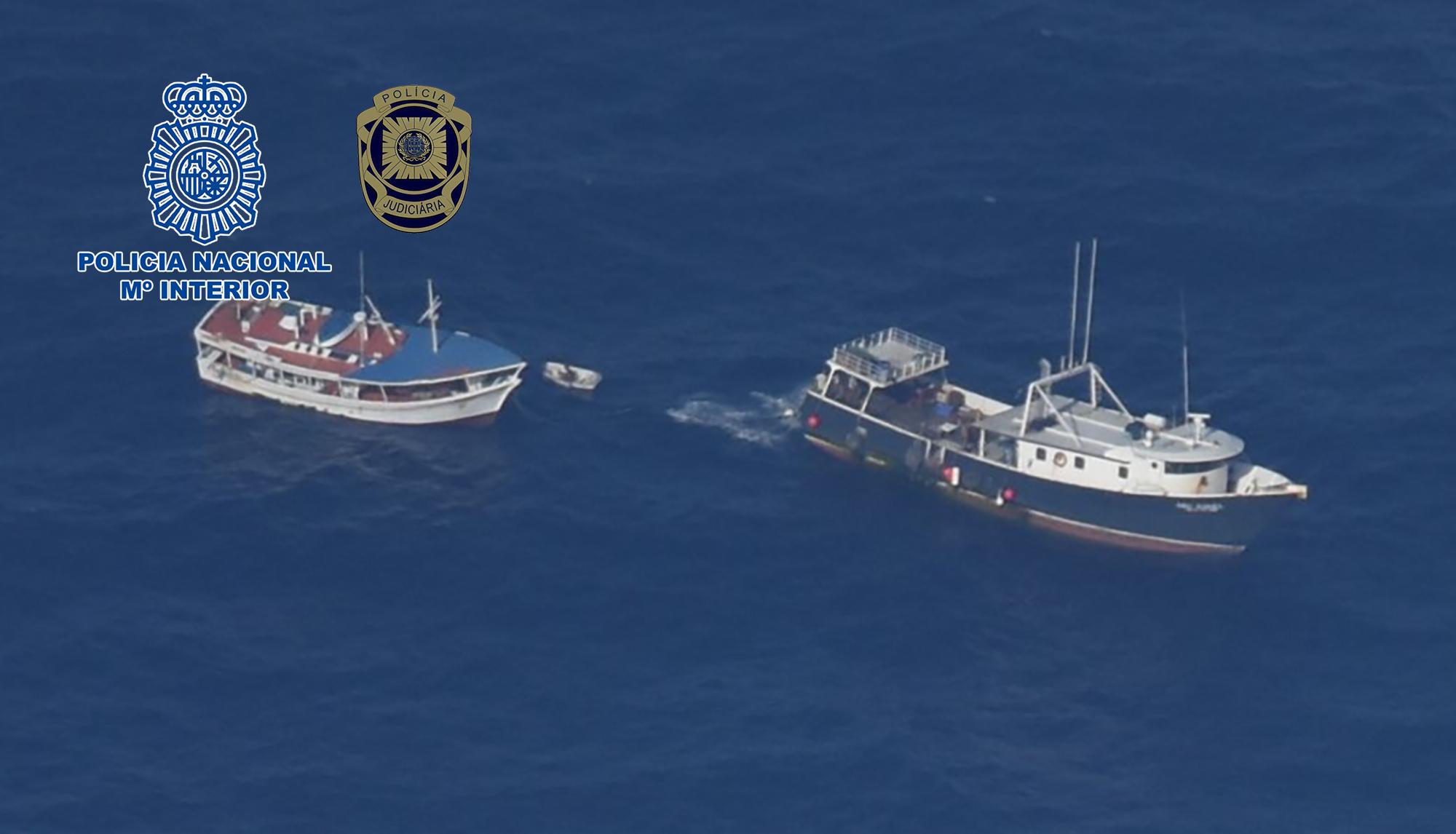Intervenidos 4.248 kilos de cocaína en un pesquero que tenía como destino España