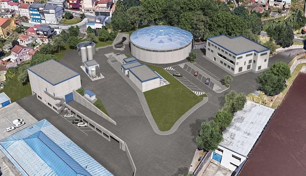 Vigo empeza a construir a potabilizadora do futuro